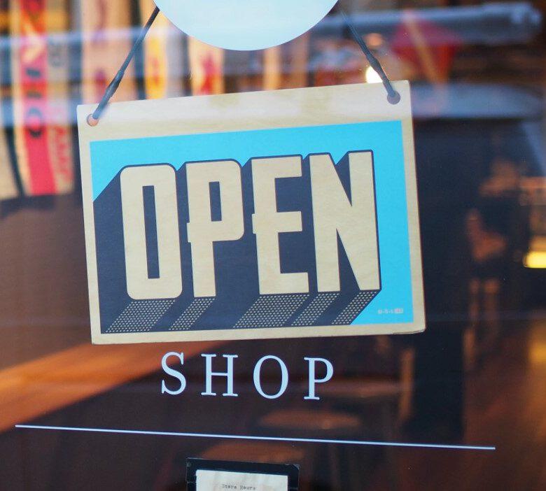 Ouverture de la boutique