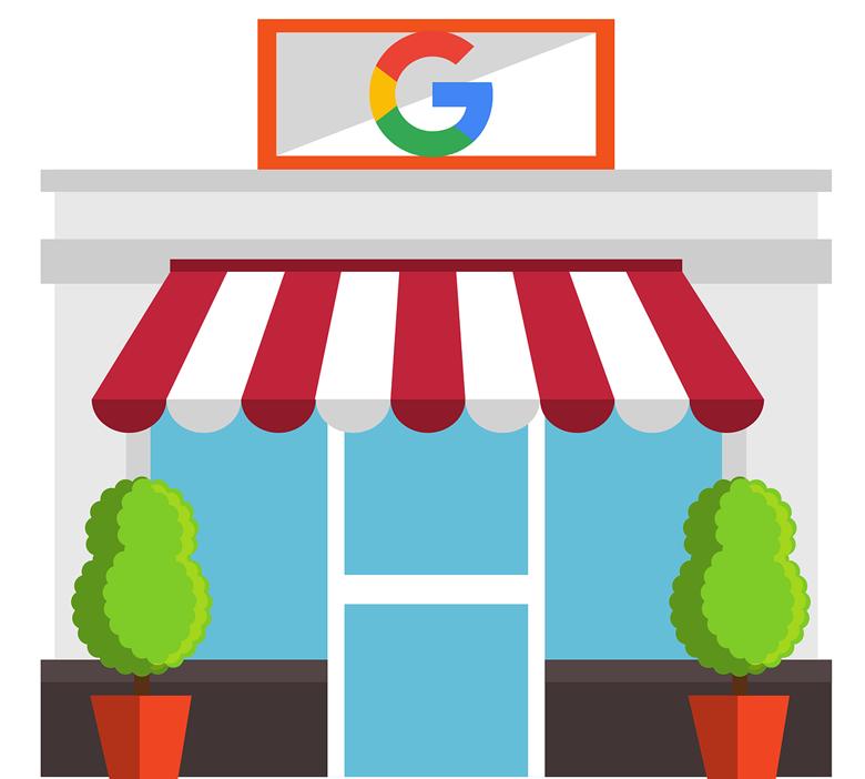 Vitrine de magasin vue par Google